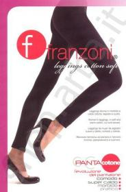 Legging donna felpati cotton soft