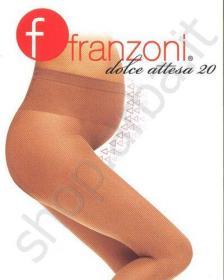 FRANZONI-Collant Gestante elasticizzata velata 20 den Dolce Attesa ... 1bbed30edeb