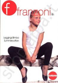 1c7b1f66fd FRANZONI-Legging cotone per bimba Summercotton