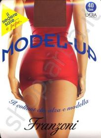 Model-UP collant push-up modellante solleva glutei a prova di tubino.