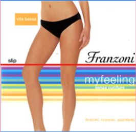 FRANZONI-Slip vita bassa microfibra My Feeling franzoni 900f87bc940
